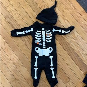Glow in the dark Halloween outfit -Carter's